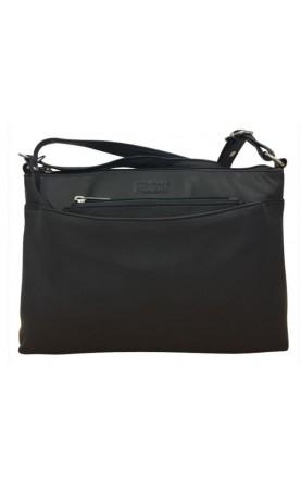 cf877398517 -afneembaar klein tasje kan bewaard worden in het voorvak of binnenin de tas  -vak met ritssluitng aan de achterzijde van de tas -middenvak met rits