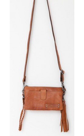 Bag2Bag clutch Dover, Cognac