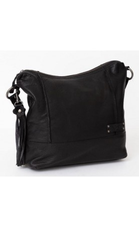 Bag2Bag shopper Tobin, zwart